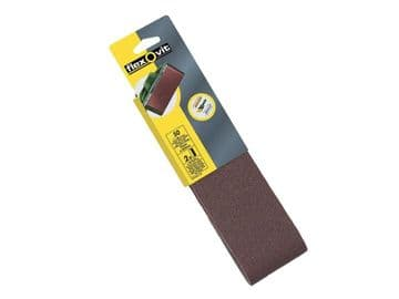 Cloth Sanding Belts 533 x 75mm Fine 120G (Pack of 2)